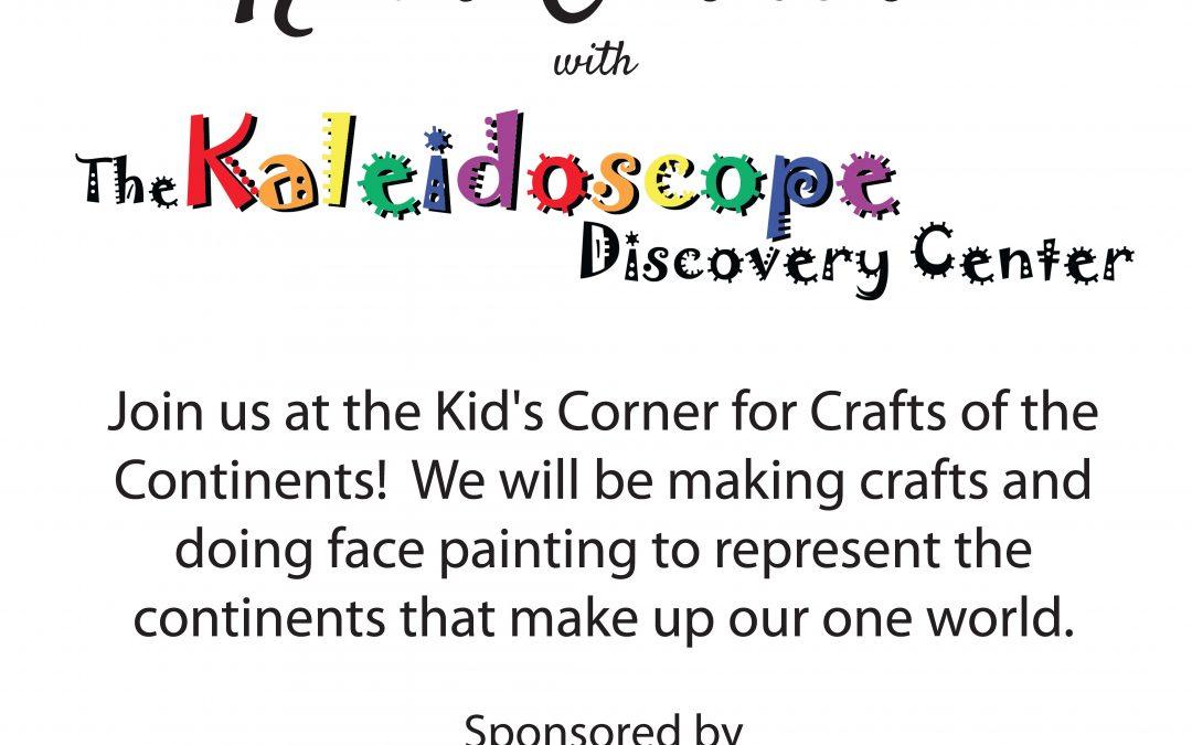 Kid's Corner at the Celebration of Nations!