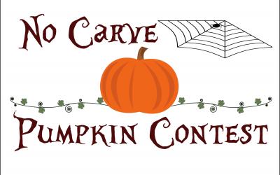 No Carve Pumpkin Contest