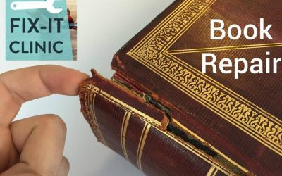 Fix It Clinics: Book Repair