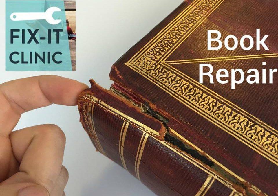 Fix It Clinics: Book Repair